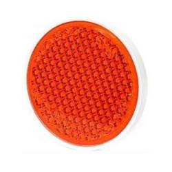 Odrazka oranžová 80 mm se...
